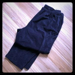 Lands' End sport cord pants NWT navy